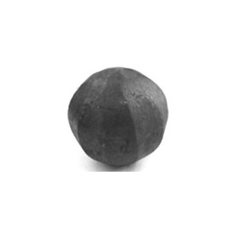 Koule železná plná fazetovaná pr.60