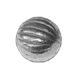 Koule železná plná rýhovaná pr.30